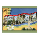Vintage Travel, Greetings From Louisiana Post Card