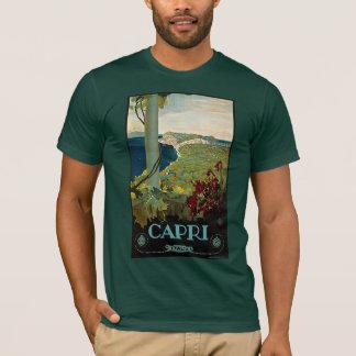 Vintage Travel, Isle of Capri, Italy Italia Coast T-Shirt