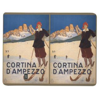 Vintage Travel Italian Alps pocket journal