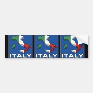 Vintage Travel Italy Logo Bumper Sticker