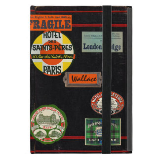 Vintage Travel Journal Cover For iPad Mini