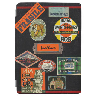 Vintage Travel Journal iPad Air Cover