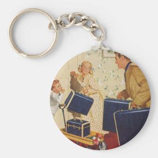 Vintage Travel Key Chains
