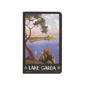 Vintage Travel Lake Garda Italy pocket journal