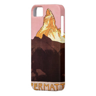 Vintage Travel, Matterhorn Mountain, Switzerland Case For The iPhone 5
