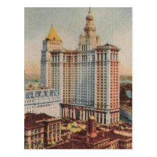 Vintage travel NewYork City USA - Postcard