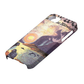 Vintage Travel, Norway Fjord Land of Midnight Sun iPhone 5 Case