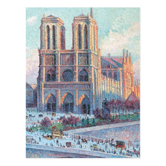 Vintage Travel Notre Dame de Paris Postcard