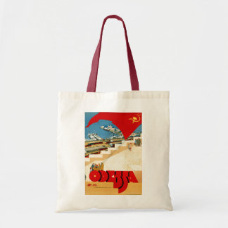 Vintage Travel Odessa Ukraine Soviet Union Tote Bag