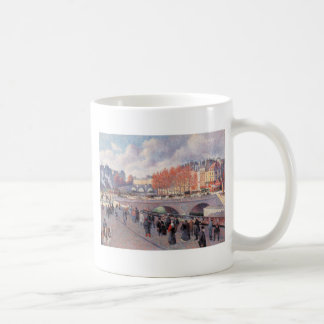 Vintage Travel Pont Saint-Michel Paris Mugs