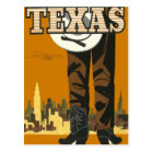 Vintage travel postcard Texas USA