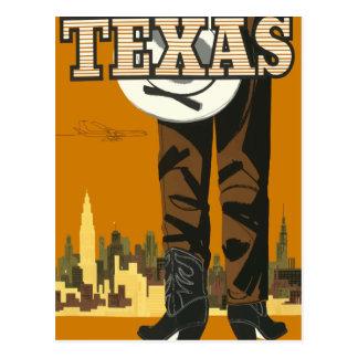 Vintage travel postcard Texas USA