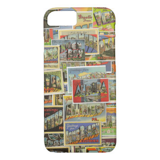 Vintage Travel Postcards Phone Case