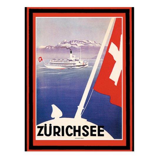 Vintage Travel Poster 51 Postcard