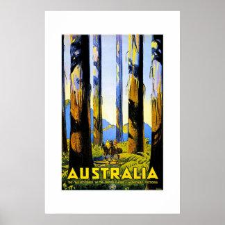Vintage Travel Poster Australia 2