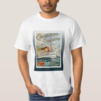 Vintage travel poster, Cadbury's Chocolate Shirts