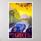 Vintage Travel Poster Greece
