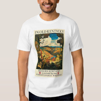Vintage Travel Poster, In Old Kentucky, NC Wyeth T Shirt
