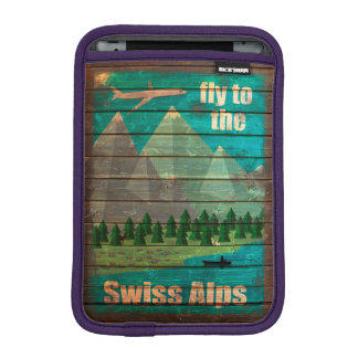 Vintage Travel Poster iPad Mini Sleeve