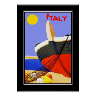 Vintage Travel Poster Italy Posters