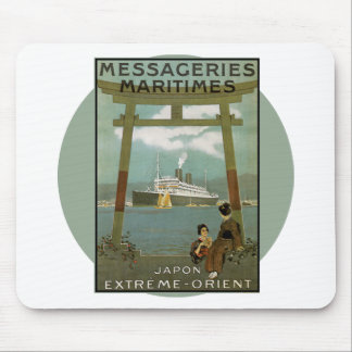 Vintage Travel Poster - Japan Mouse Mat