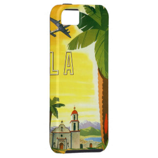 Vintage Travel Poster, Los Angeles, California iPhone 5 Covers
