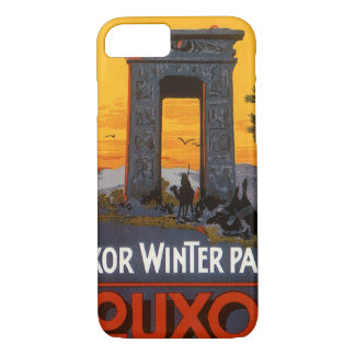 Vintage Travel Poster, Louxor Winter Palace, Egypt iPhone 7 Case