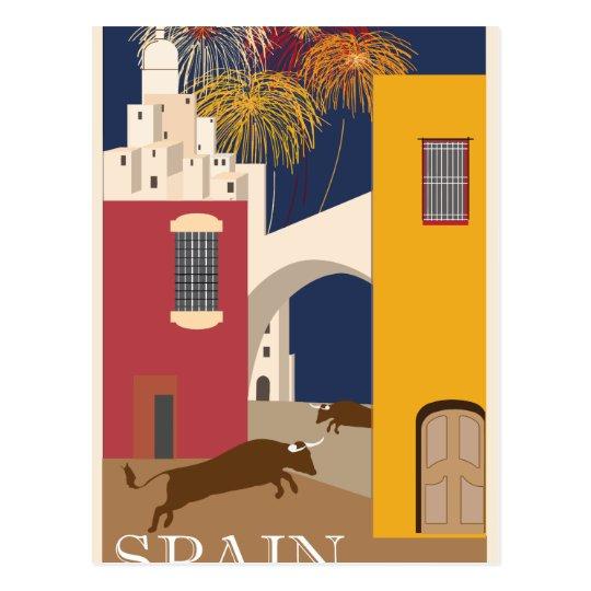 Vintage-Travel-Poster-Spain Postcard