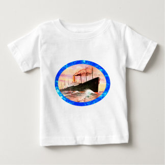 Vintage Travel Posters: Ocean Liner Shirts
