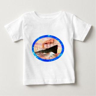 Vintage Travel Posters: Ocean Liner T Shirt
