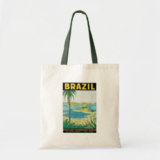 Vintage Travel Rio de Janeiro Brazil Coastal Beach