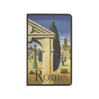 Vintage Travel Rome Italy pocket journal