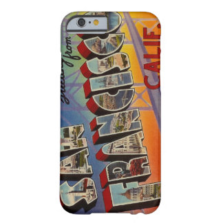 Vintage Travel San Francisco Barely There iPhone 6 Case