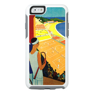 Vintage Travel, Sports Tennis, Monte Carlo, Monaco OtterBox iPhone 6/6s Case