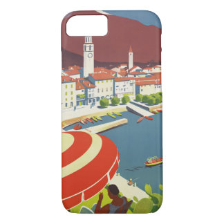 Vintage Travel Switzerland iPhone 8/7 Case