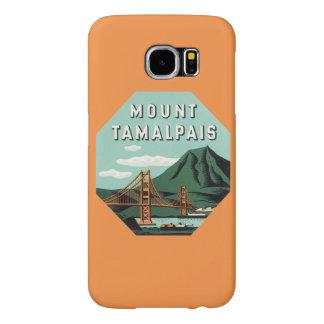 Vintage Travel, Tamalpais Mountain or Mount Tam Samsung Galaxy S6 Cases
