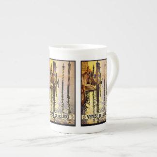 Vintage Travel Venice Italy mugs