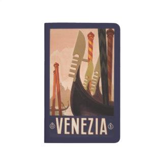 Vintage Travel Venice Italy pocket journal