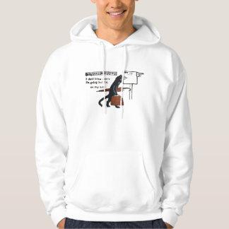 Vintage Travelling Black Cat Hoodie Sweatshirt