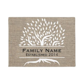 Family Name Doormat