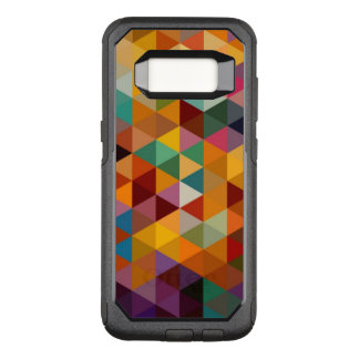 Vintage Triangles Pattern Background. OtterBox Commuter Samsung Galaxy S8 Case