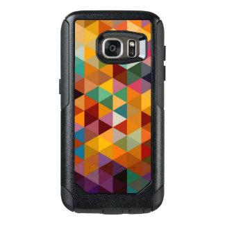 Vintage Triangles Pattern Background. OtterBox Samsung Galaxy S7 Case