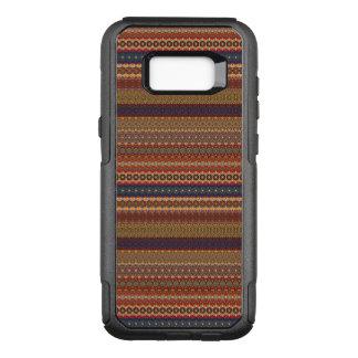 Vintage tribal aztec pattern OtterBox commuter samsung galaxy s8+ case