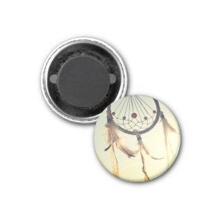 Vintage Tribal Hipster Dream Catcher Ornament 3 Cm Round Magnet