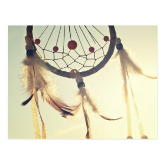 Vintage Tribal Hipster Dream Catcher Postcards