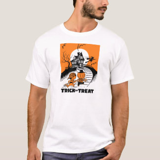 "Vintage ""Trick Or Treat"" Kids T-Shirt"
