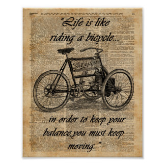 Motivational Cycling Posters & Prints