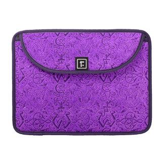 Vintage Triskel Purple Macbook Pro Flap Sleeve Sleeve For MacBooks
