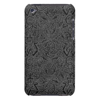 Vintage Triskle Celtic Trinity Knot Charcoal Steel Barely There iPod Cover