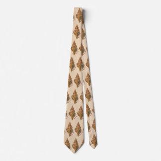 Vintage Triton Seashell Shell, Marine Ocean Animal Tie